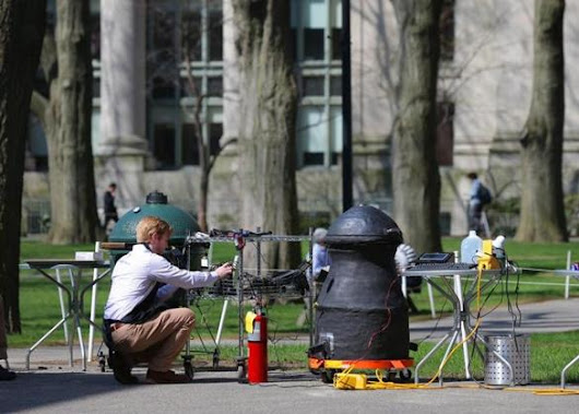 Harvard class cooks up the ultimate BBQ smoker - Metro - The Boston Globe