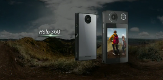 The Acer Holo 360 is an Android phone with a 360-degree camera