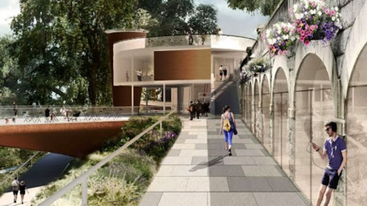 New £20m Union Terrace Gardens proposals in Aberdeen unveiled - BBC News