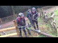 Hilarious Rescue Of A Fat Bike Stuck On An Electric Fence - Video