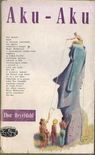 Okładka książki Aku - Aku. Tajemnica Wyspy Wielkanocnej