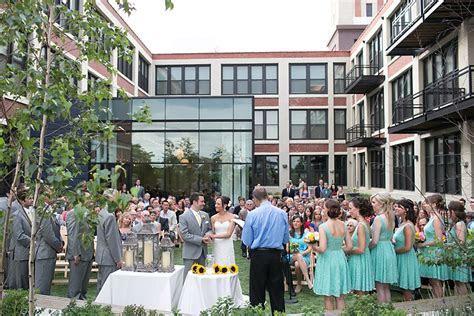 Erin   Kyle ~ Greenhouse Loft Wedding ~ Chicago Loft
