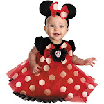 Halloween Girls' Minnie Mouse Costume - 12-18 Months, Girl's