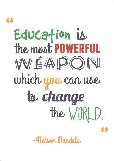 Inspirational Quotation Poster: Nelson Mandela   Free