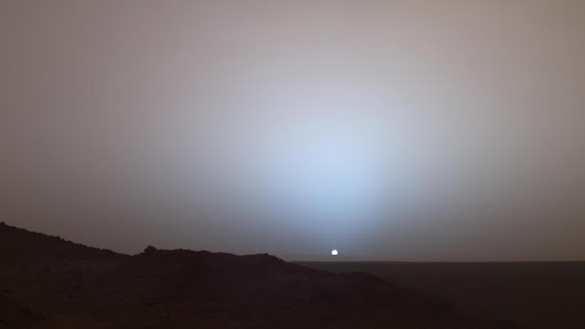NASA Shows Us a Blue Sunset on Mars « Nerdist