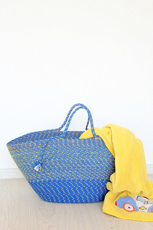 Rope Bag Free And Easy Sewing Tutorial For Beginners