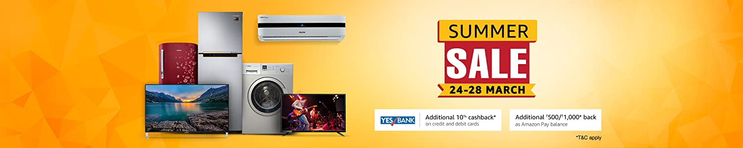 Televisions and appliances sale