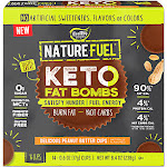 Nature Fuel Keto Fat Bombs Peanut Butter (14 Cups)