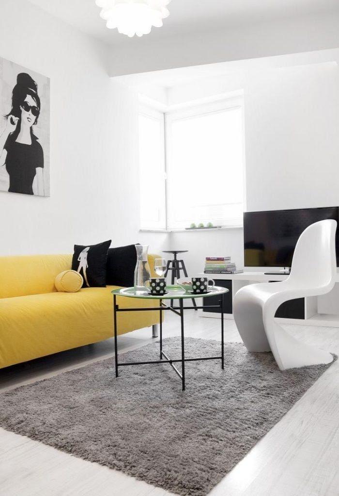 Wohnzimmer einrichten - Tipps für lange, schmale Räume