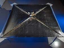 Vela Solar será testada em foguete SpaceX