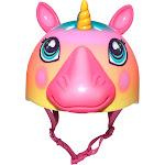 Raskullz Helmet, Camper, Pink, Super Rainbow Corn, Child