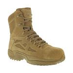 "Reebok Work Rapid Response RB 8"" Composite Toe Men's Boot"