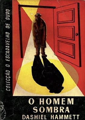 Capa de Rosa Duarte para um livro de Dashiel Hammett