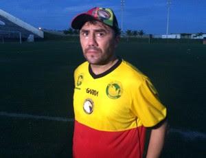 Luizinho Lopes - técnico do Globo FC (Foto: Carlos Cruz/GloboEsporte.com)