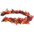 National Tree Company 6 ft. Maple Garland with Clear Lights