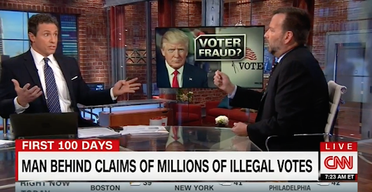 CNN's Chris Cuomo Allowed Trump's Voter Fraud 'Source' to Own Himself