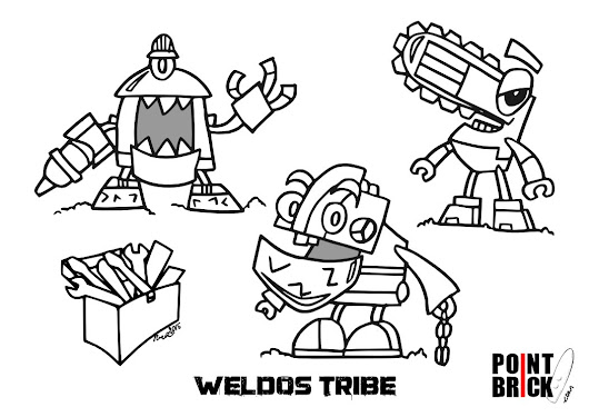 LEGO Coloring Pages! This week the crazy world of #Mixels with 2 ...