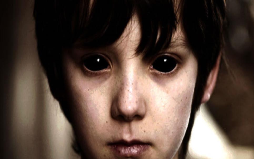 Mistério: você já ouviu falar das crianças com olhos completamente negros?
