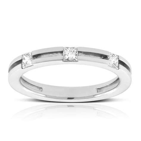 Men's Square Cut Diamond Wedding Ring 14K   Ben Bridge Jeweler