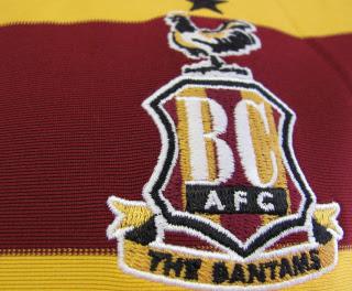 New Bradford City Kit 2012-2013- Nike Bradford City FC ...