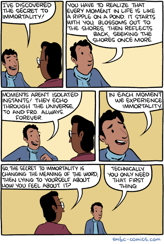 Saturday Morning Breakfast Cereal - Immortality