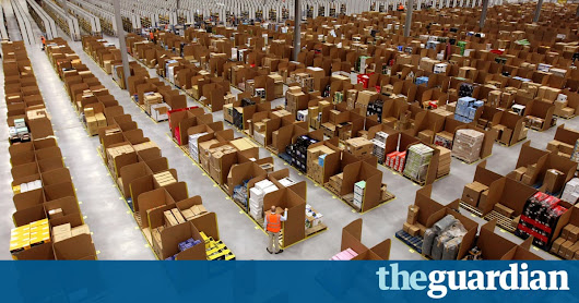 Amazon accused of 'intolerable conditions' at Scottish warehouse | Technology | The Guardian