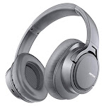 Mpow H7 Bluetooth Headphones Over Ear, Comfortable Wireless Headphones, Rechargeable HiFi Stereo Headset, w/Wired Mode, CVC6.0 Microphone for