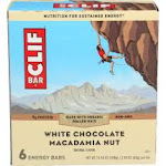 Clif Energy Bars, White Chocolate Macadamia Nut - 6 pack, 2.40 oz bar
