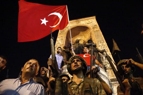 صورة: محاولة انقلاب في تركيا