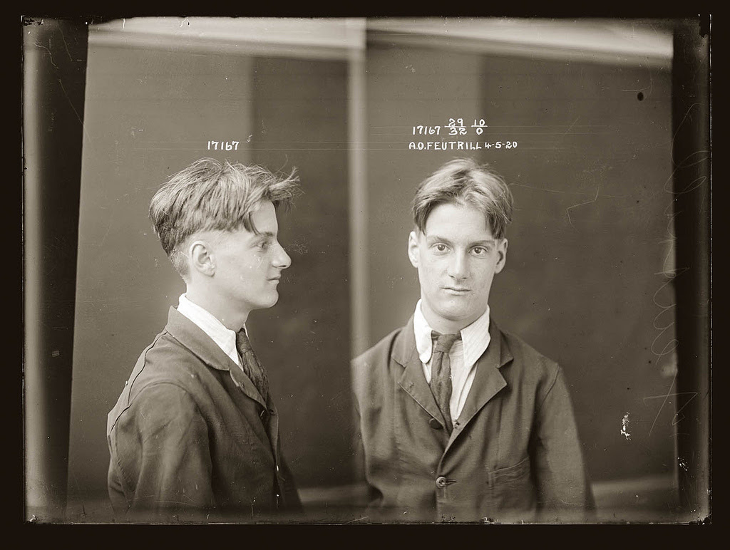 photo police sydney australie mugshot 1920 12 Portraits de criminels australiens dans les années 1920  photo photographie histoire featured art