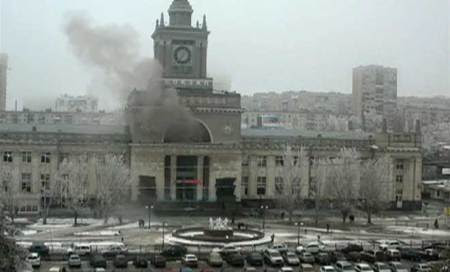 Russia attack caused by suicide bomber,toll up to 14