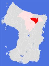 Rhindose place map