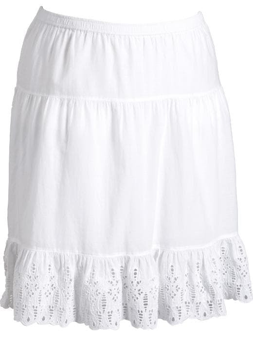 Old Navy Womens Plus Tiered Cut-Out Skirts