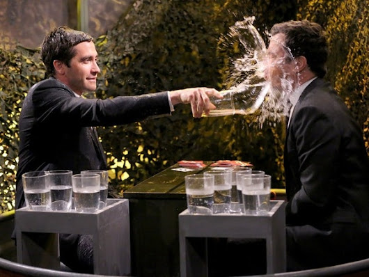 In Jake Gyllenhaal and Jimmy Fallon's Water War, Everybody Wins — VIDEO