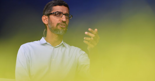 Opinion | Sundar Pichai Should Resign as Google's C.E.O.