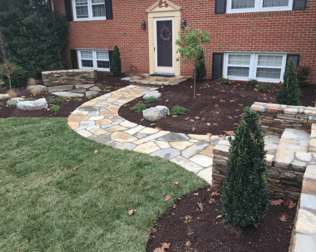 Landscape Garden Design Reviews Ellicott City Md Pooles Stone