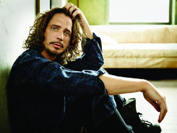 O cantor e compositor Chris Cornell