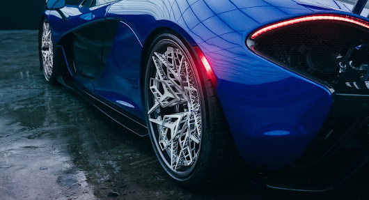 World's First 3D-Printed Titanium Wheels Are Just Insane To Look At | Carscoops