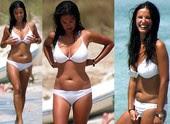 Paula Prendes En La Playa