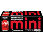 Coca-Cola Mini - 10 pack, 7.5 fl oz cans