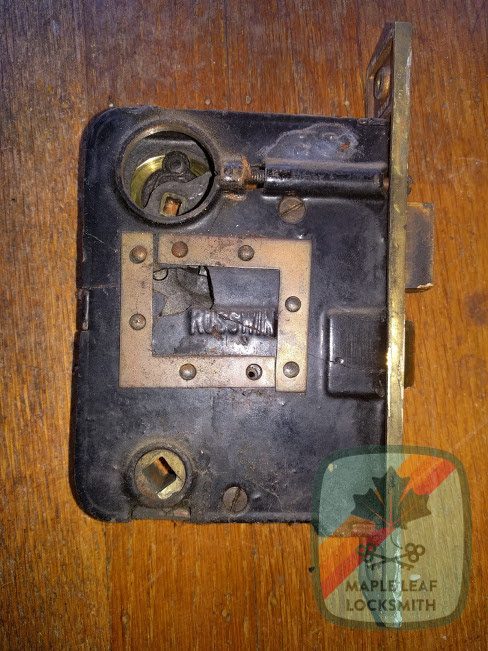 An interesting mortise lock fix – Seattle's Maple Leaf Locksmith LLC – (206)335-4559