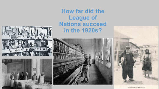 How far did the League of Nations succeed in the 1920s?