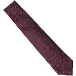 Gucci Mens Red Gandom GG Silk Tie 349398