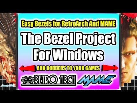 The Bezel Project For Windows Easy Bezels For RetroArch And MAME