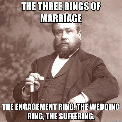 The three rings of marriage The engagement ring, the