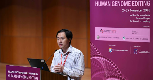 China Halts Work by Scientist Who Says He Edited Babies' Genes