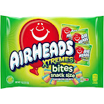Airheads Xtremes Bites Snack Size Laydown Bag - 9oz