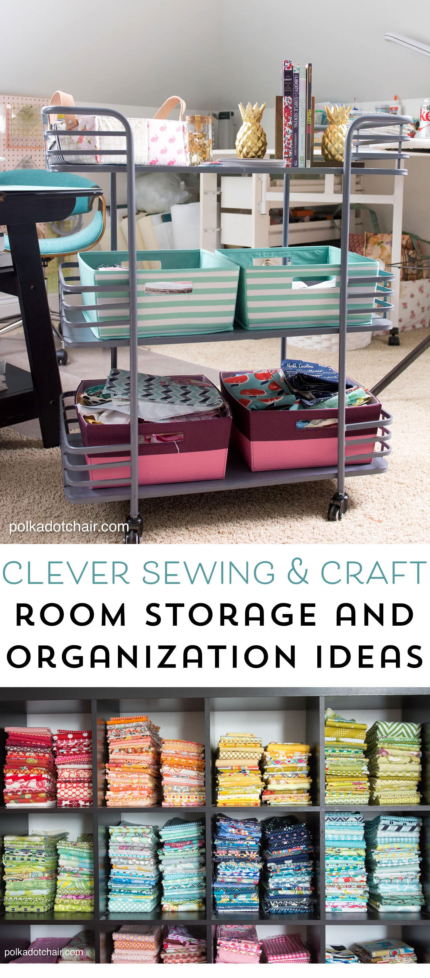 Cute & Clever Sewing Room Organization Ideas & HomeGoods ...