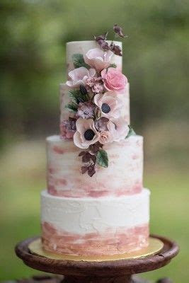 Brushed Rose Gold, Pink and Mauve Rustic Buttercream