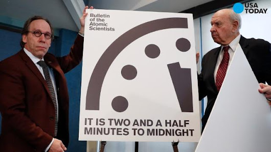 'Doomsday Clock' edges closer to midnight